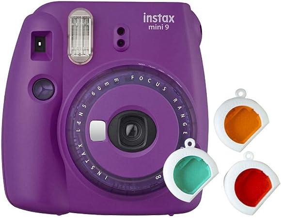 Oferta amazon: Fujifilm Instax Mini 9 - Cámara instantanea, solo cámara, Morado