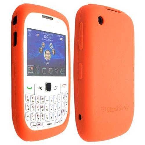 Orange Silicone Soft Skin Case Cover for RIM Blackberry Curve 2 8520 8530