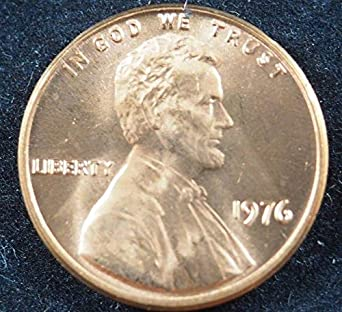1976 P ROLL OF 50 UNCIRCULATED PENNIES