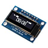 XCSOURCE 0.91'' SPI Serial 128X64 White OLED LCD LED Display Module for Arduino TE666