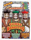 Three Banditos Salsa Gift Set - Across town the three banditos have made themselves at home at the local cantina. A little fiesta is in store with these three uniquely different salsas.