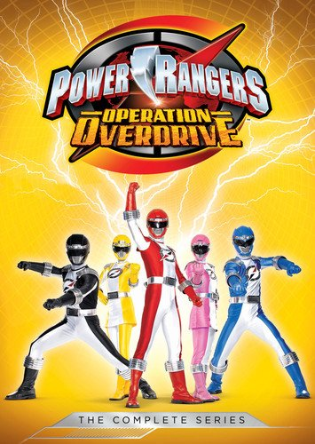 Power Rangers: Operation Overdrive: The Complete Series -