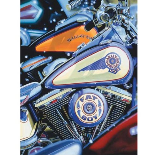 Ravensburger Harley - Davison 500 Piece - Look but Don't Touch