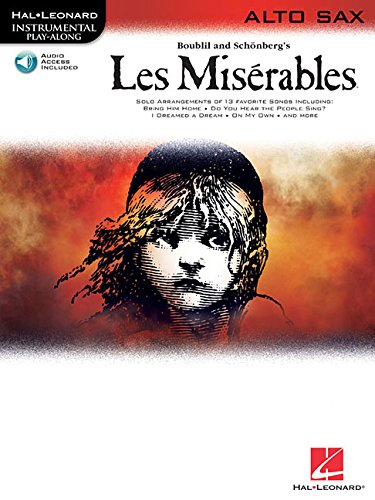 - Les Miserables: Alto Sax Play-Along Pack (Hal Leonard Instrumental Play-Along)