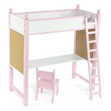 Buy Loft Bed Desk Set Fits American Girl Dolls 18 Inch Doll