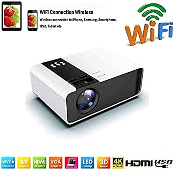 SWEET Wi-Fi Proyectores / 1080P Práctica Proyector Mini Led ...