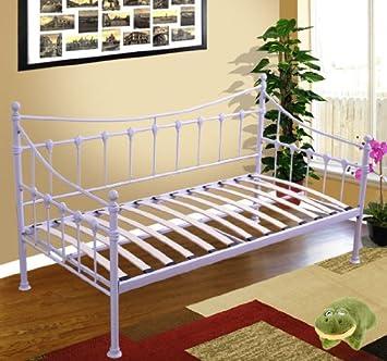 banquette lit gigogne metal. Black Bedroom Furniture Sets. Home Design Ideas