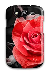 Best 4267675K16767350 For Galaxy Protective Case, High Quality For Galaxy S3 Flower Skin Case Cover