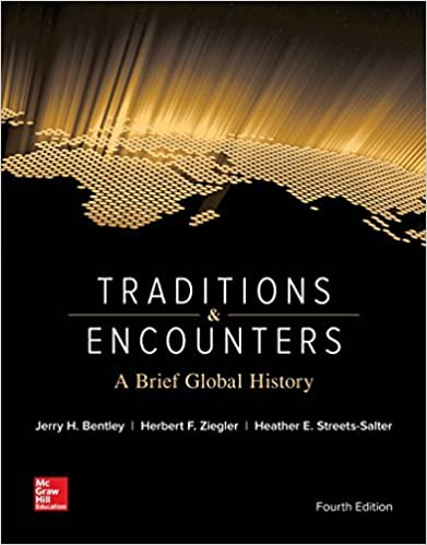 Traditions & Encounters: A Brief Global History by Jerry Bentley (2015-08-31)