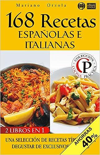168 Recetas españolas e italianas