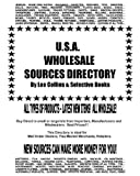 USA Wholesale Sources Directory, Lee Collins, 1456346628