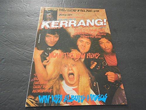 Kerrang Magazine #156 Oct 3 1987, Michael Schenker, Armored Saint