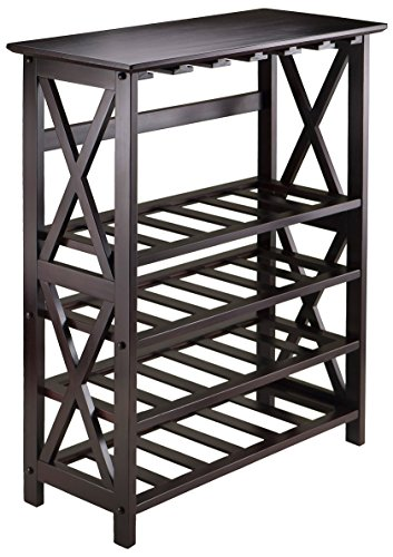 Winsome Wood Rio Model Name Wine Storage, Espresso