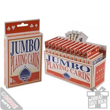 Tamaño gigante unidades juego de tarjetas con diseño de ...