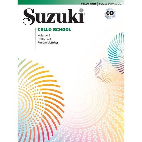 Alfred Suzuki Cello School Book & CD Volume 1 (Alfred Suzuki Cello)
