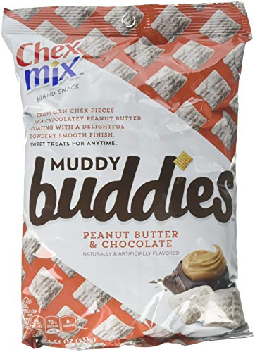 Chex Mix Muddy Buddies Peanut Butter Chocolate Snack, 30 Count
