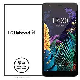 LG K30 Factory Unlocked Phone – 5.4″ Screen – Black (U.S. Warranty)