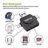 SD / Micro SD Card Reader, LOWYEE TF & MicroSD