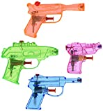 Fun Express 25 Piece Plastic Squirt Gun Assortment