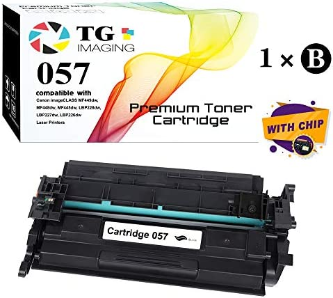 (1-Pack) TG Imaging Compatible 057 CRG-057 Toner Cartridge U