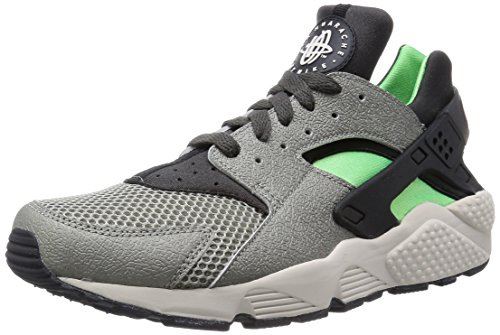 Nike Air Huarache - Zapatillas para hombre Gris - Gray - Grau (Mine Grey/Mid Fog-Psn Grn-Blk)