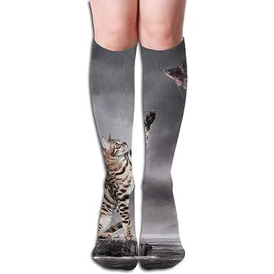 Calcetines hasta la rodilla para mujer Vestidos de tubo de ...