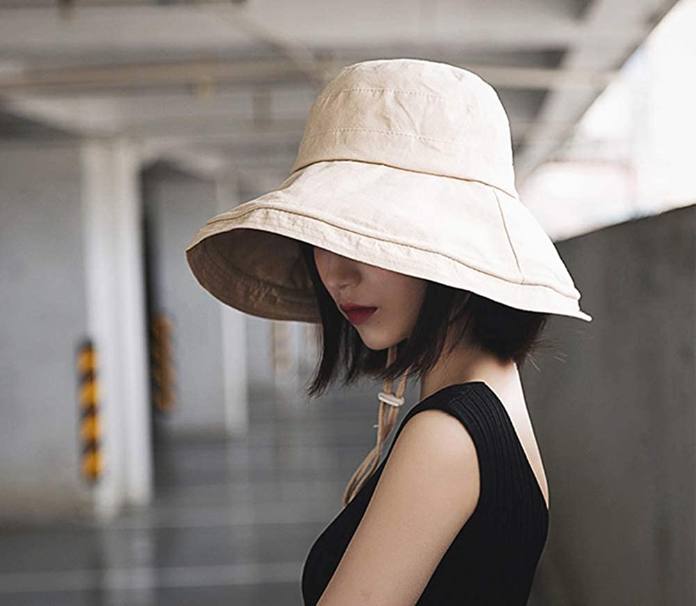BlueFire2015 Fashion Hat for Women Summer Casual Solid Color Bucket Sun Hat