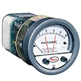 Dwyer Photohelic Series A3000 Pressure Switch/Gauge, Range 0-5 Psi