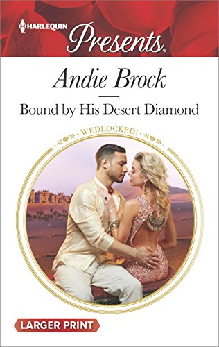 book cover of Bound by His Desert Diamond