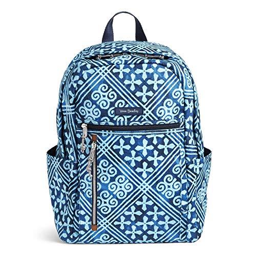 Vera Bradley Women's Small Backpack Spring, Cuban Tiles
