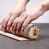 Sushi Making Kit, Bamboo Sushi Mat, Including 2