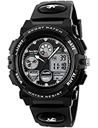 Boys Watches Multifunction Dual Time Digital Watches...