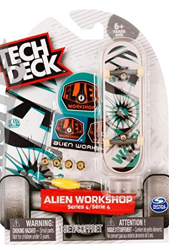 (Split Vision Tech Deck Alien Workshop Series 4 Finger Skateboard (Rare) 96mm Toy)