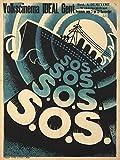 SOS Vintage Poster Belgium c. 1928