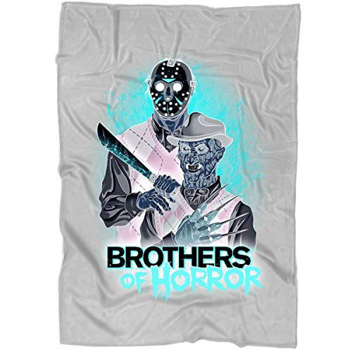 ROEBAGS Blankets - Perfect for Layering Any Bed, Freddy and Jason Walk-Through at Halloween Horror Nights Fleece Luxury Blanket (Medium Fleece Blanket (60