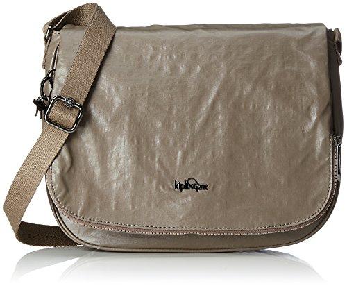 Kipling Women's Earthbeat M Cross-Body Bag Braun (Lacquer Sand)