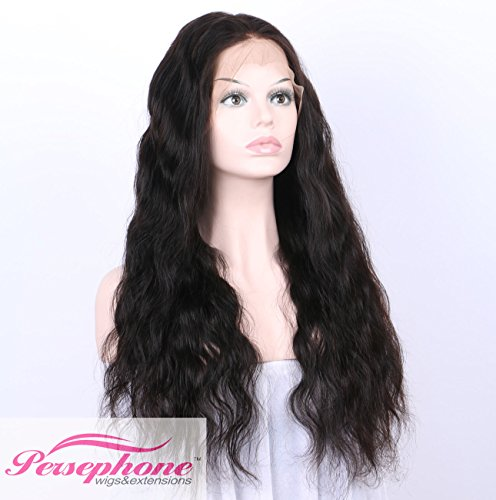 Persephone Glueless 200% Extra Heavy Density Body Wave 360 Lace Frontal Wigs Human Hair with Baby Hair Brazilian Remy Hair Lace Wig with Natural Hairline for Women Natural Color 22inches by Persephone (Image #3)