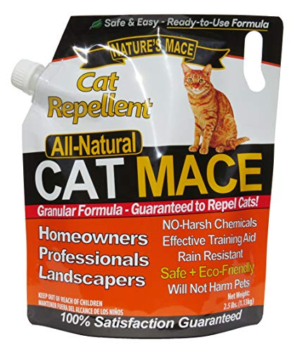 Nature's MACE Cat Repellent-2.2lb Shaker Granular (Best Way To Get Rid Of Cat Urine)