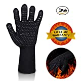 BBQ Gloves Heat Resistant Barbecue Gloves for Cooking/Oven/Grilling - Best Reviews Guide