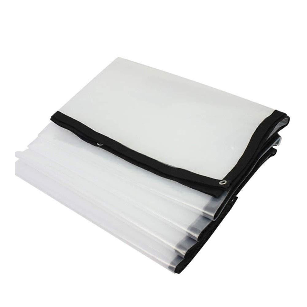 Transparent 3x6M Wangcfsb BÂche PVC Transparente en Verre imperméable, revêteHommest de Sol réversible à usages Multiples, Isolation Anti-Âge, Anti-UV et Anti-Corrosion (Couleur   Transparent, Taille   3x5m)