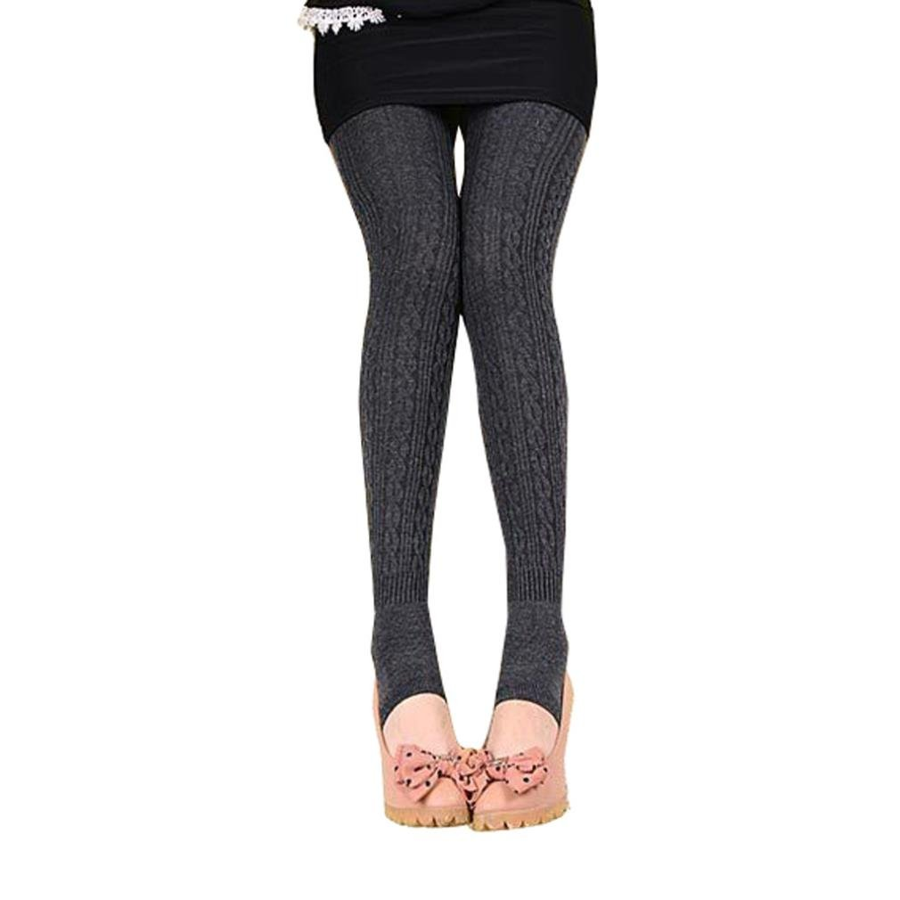 Leggings,Sunfei Winter Warm Girl Comfortable Women Cotton Tights Stirrup Trousers