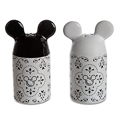 Disney Parks Gourmet Mickey Mouse Salt & Pepper Shakers Set - Disney Parks Exclusive & Limited Availability