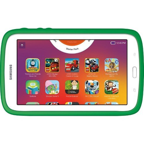 Samsung – Galaxy Kids Tablet 7.0″, The Lego Ninjago Movie Edition, White