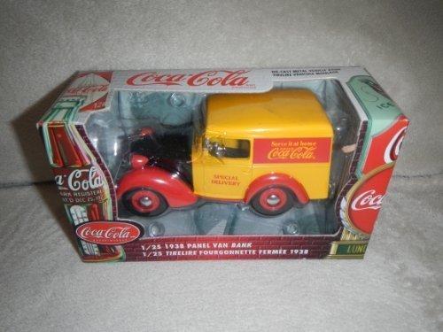 Ertl 1938 Panel Van Coca Cola Die Cast Metal Bank 1:25 Scale