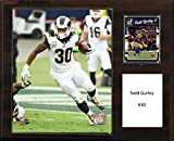 "C&I Collectables NFL St. Louis Rams Todd Gurley Player Plaque, 12""x15"""