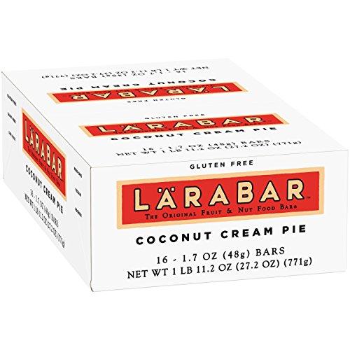 Larabar Gluten Free Bar, Coconut Cream Pie, 1.7 oz Bars (16 Count) -  21908453118