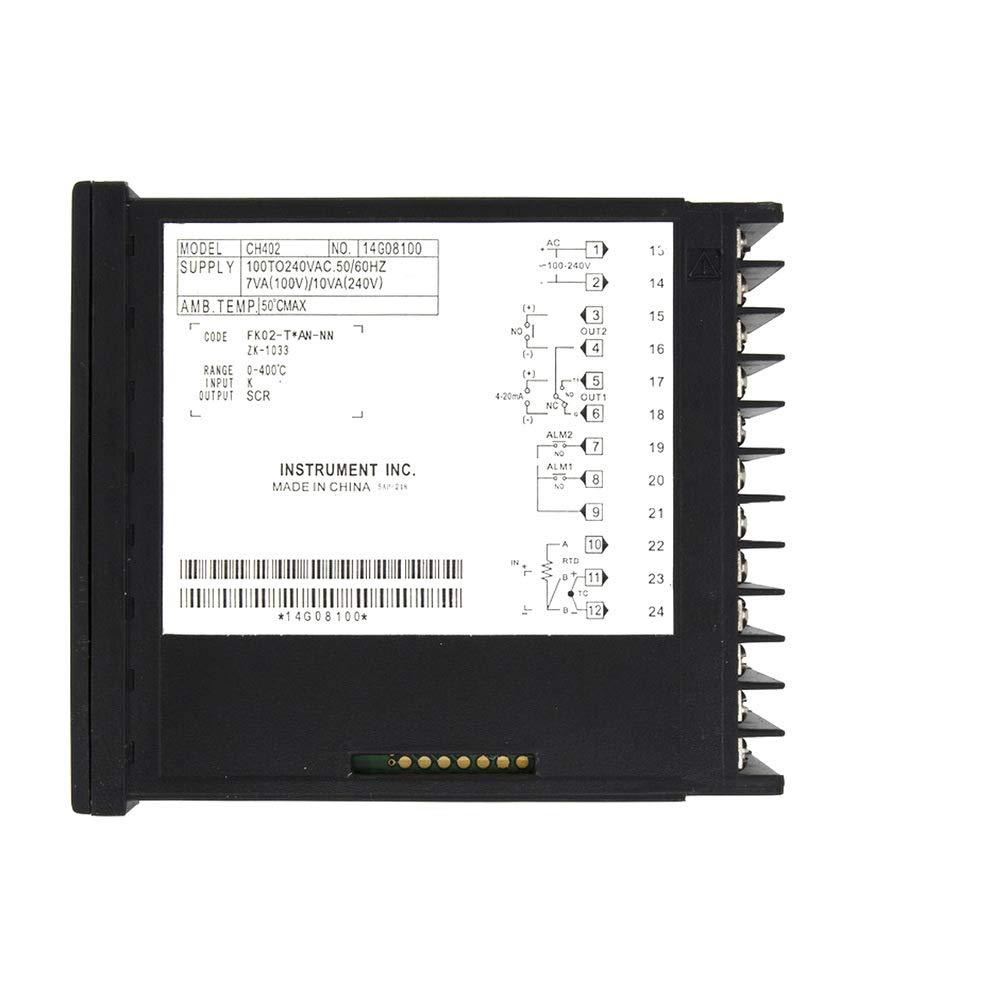 CH402 SCR Output Digital PID Temperature Controller