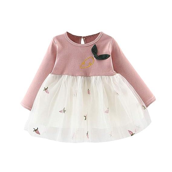 Squarex Vestido Para Niñas 0 2 Años De Edad Bebé Niños