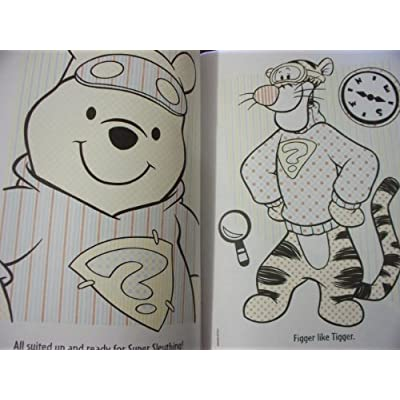 Disney's Tigger and Pooh Paint with Water Coloring Book: Toys & Games
