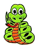Nipitshop Patches Cute Pretty Green Snake Eyeball